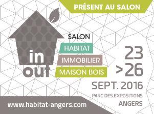 Immocrédit présent au Salon de l'Habitat-Immobilier et Maison Bois édition 2016 à Angers